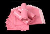 라이트 핑크 폴리 메일 접착 봉투