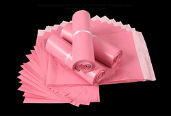 Light Pink Poly Mailing Adhesive Envelope Bags Shipping Packaging Bags Plastic Mailer Pink Wedding Gift Package Bags
