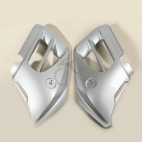 1 пара серый в середине передней крышки Обтекателя для Хонда goldwing GL1800 12 13 14 15
