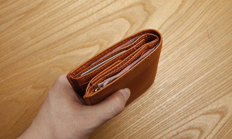 LAN leather mens hight quality wallet first layer cow leather wallet fashion long wallet