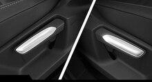 Stile auto Interni di Regolazione del Sedile Pulsante Della Copertura Della Pagina Trim ABS Opaco Per Volkswagen Arteon 2017 2018