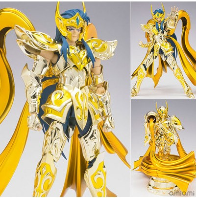 High Quality Gold Soul Saint Seiya EX Gold Saint Aquarius Bottle Camus Model Toys bandai saint seiya seiya statue tribute shokugan camus o rudi pakistan ice saga