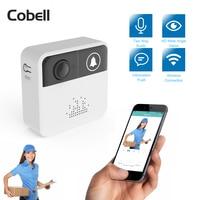 Cobell 720P HD Wireless WIFI Doorbell Battery Door Camera Two Way Audio Intercom IP Door Bell Home Security APP Control