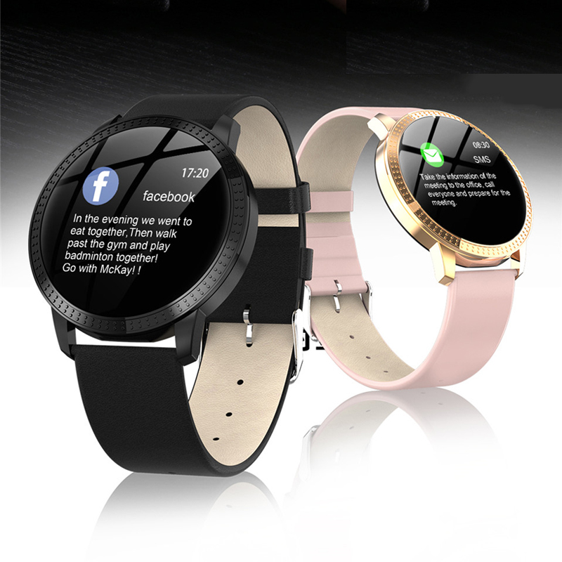 2019 Women Smart Watch With Blood Pressure Heart Rate Monitor Sport Activity Fitness Tracker Smartwatch Connect Android Iphone