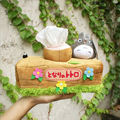 1pcs Lovely Chinchillas Totoro Plush Doll Toy Tissue Boxes Extraction Household Product Totoro Gifts For Girls Free Shipping