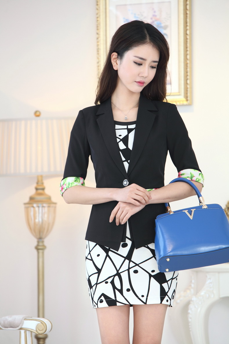 Aliexpress.com Comprar Primavera verano vestido Formal trajes para mujeres Work Wear trajes Blazer y sistemas Jacket mujeres delgadas en la oficina trajes