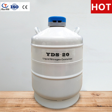 TIANCHI liquid nitrogen tank 20 L cryogenic storage semen dewar flask 20 liter with straps carry bag
