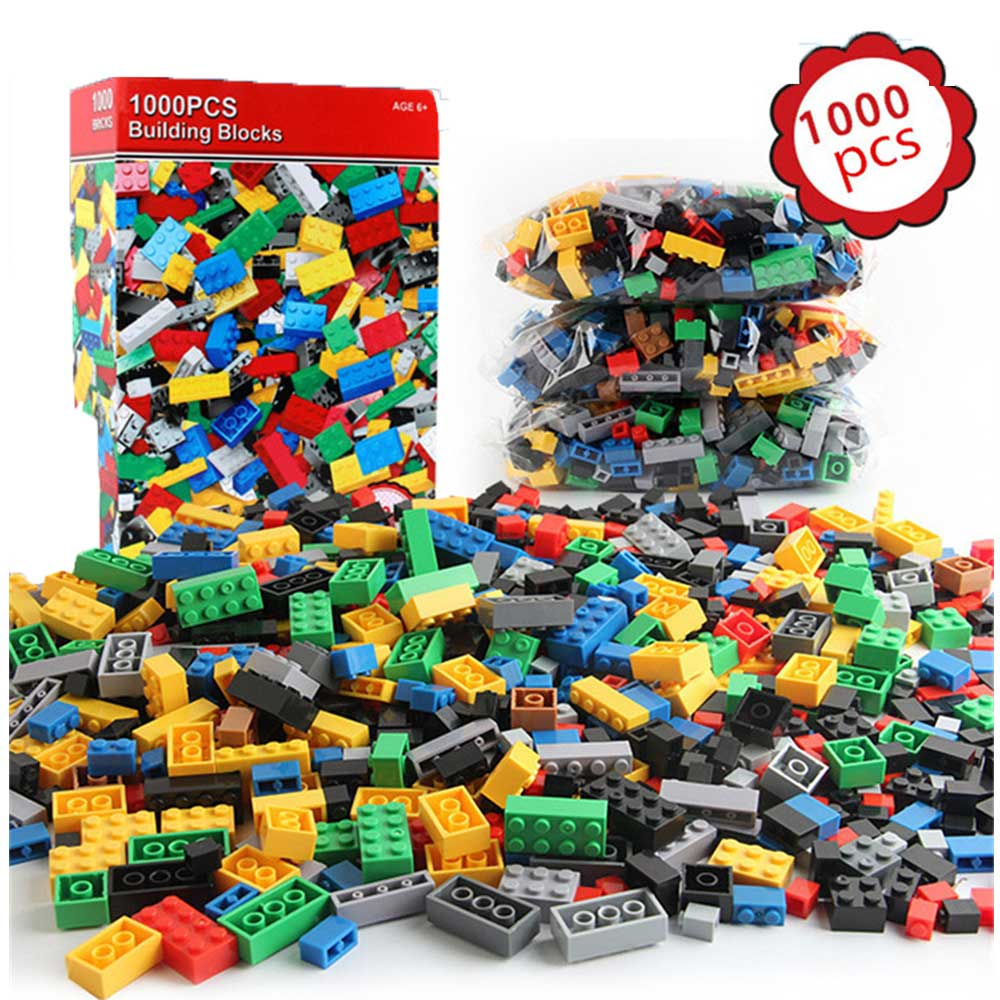 1000 Pieces Legoings City Building Blocks Kids DIY Creative Bricks Technic Brinquedos Building Toys for Children Christmas Gift solar electronic building blocks children s electrical science and education diy toys christmas gift