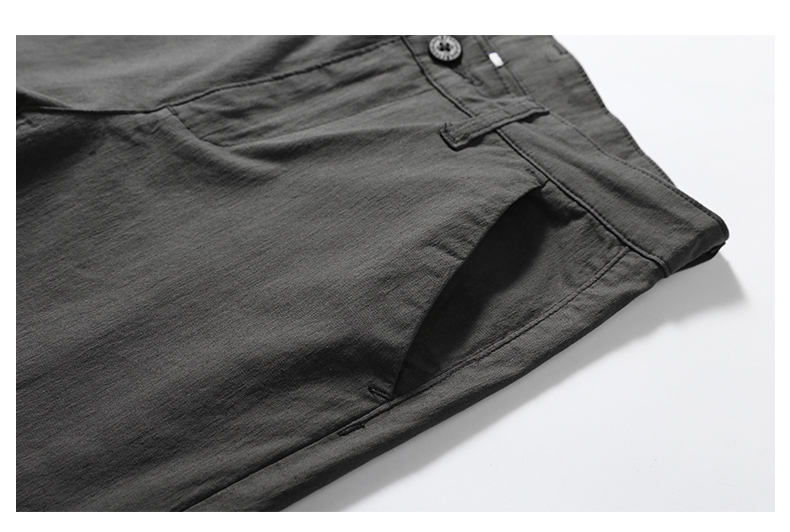Casual Men Cotton Slim Fit Chinos Pants 13