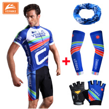VEOBIKE Brand Pro Cycling Jersey Full Set Bike Uniform Cycle Shirt Ropa Ciclismo Bicycle Wear MTB Sports Clothing Running Sets