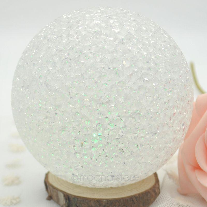 7 Farben Ndern Ball Led Nachtlicht Lampe AG13 Batterie Fr Weihnachtsgeschenk Room Home Hochzeit