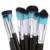 Hot 8 unids Pinceles de Maquillaje Herramientas de Pincel de Sombra de Ojos Blush Cepillos Cosméticos Maquillaje Cepillo Kit Esencial