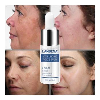 цена на Hyaluronic Acid Serum LANBENA Snail Essence Face Cream Moisturizing Acne Treatment Skin Care Repair Whitening AntiAnging