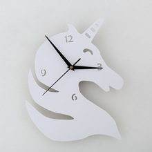 Unicorn Silhouette Wall Clock