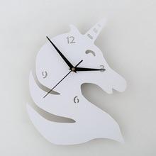 Unicorn Silhouette Wall Clock