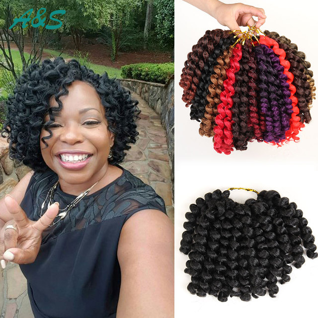 Natural Looking Crochet Braids Crochet Hair Extensions 75gpack 8