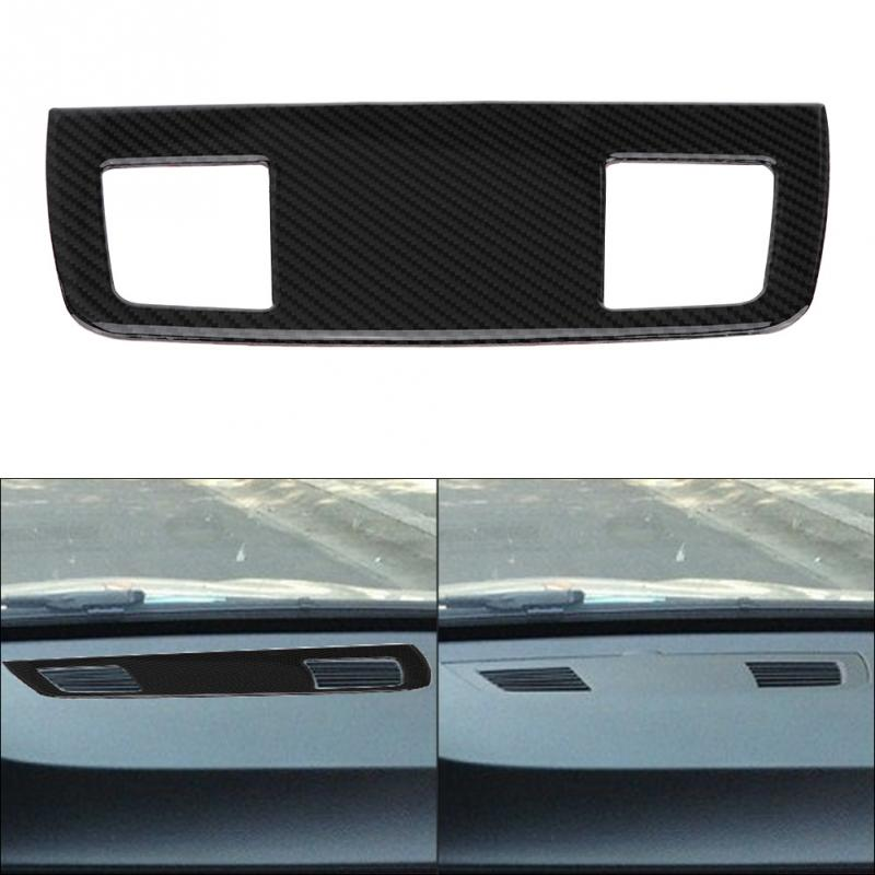 Car styling Carbon Fiber Car Interior Air Conditioner Outlet Panel Frame Cover Trim for BMW E90/92/93 Car Accessories
