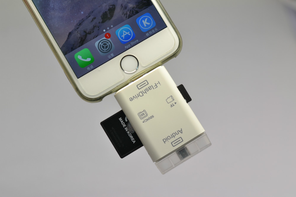 sd card reader for iphone 5 with the new 16 gb memory 3 in 1 usb sd card reader for 6406