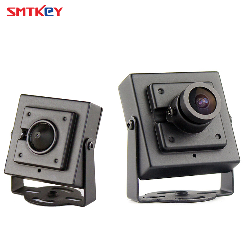 Metal Mini 700TVL Color CMOS Analog CCTV Security Camera with 3.6mm lens or 3.7mm lens SMTKEY