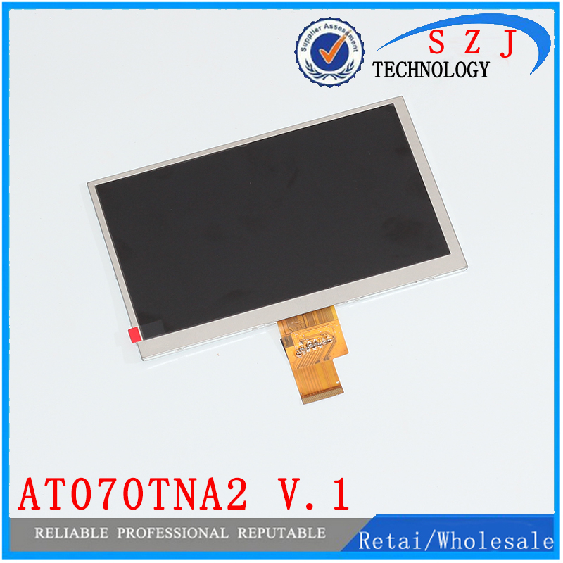 Original 7 inch HD TFT LCD Display AT070TNA2 V.1 for MID Ramos W17 Pro 1024*600 LVDS LCD screen Free shipping