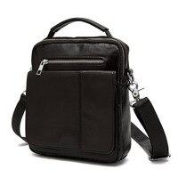 e60a97dbd0cb0 Small Hand Bag Men Simple Casual Zipper Shoulder Bag Genuine Leather  Fashion Small Work Bag Designer. US $75.60. Dikey bölüm Küçük El Çantası ...