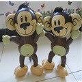 5 unids/lote Juguetes Inflables del envío libre Mini moda Mono Animales Inflables juguetes de los niños al por mayor