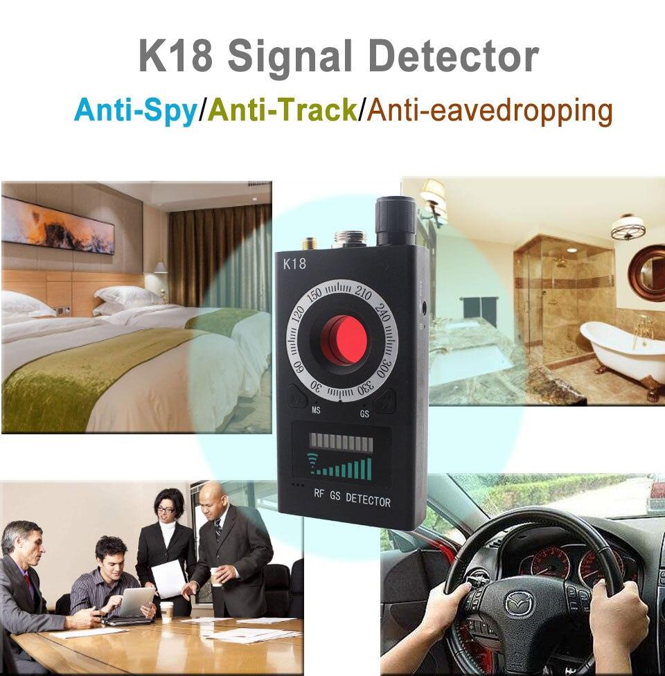 Privacy Protector -K18 Signal Detector : realspygadgets.com