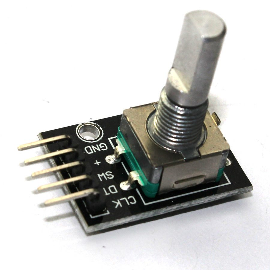 Rotary Encoder Module Brick Sensor Development for arduino Dropshipping KY-040 free shipping hot sales rotary encoder module brick sensor development board for arduino