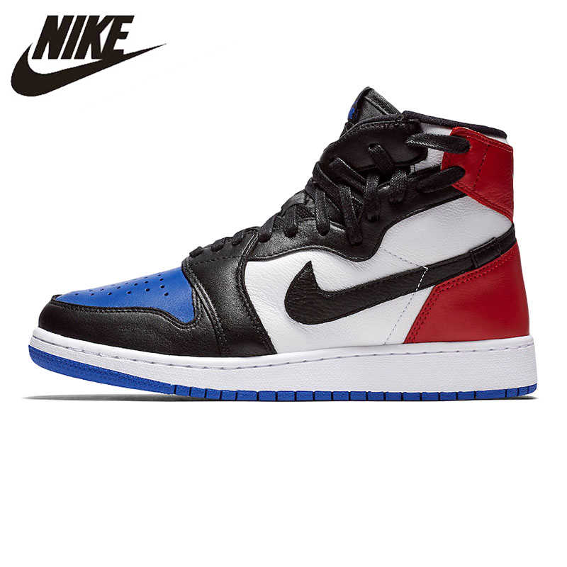 best website 8566d 56f8f Nike AIR JORDAN 1 rebelle XX OG femmes chaussures de basket-ball absorbant  les chocs