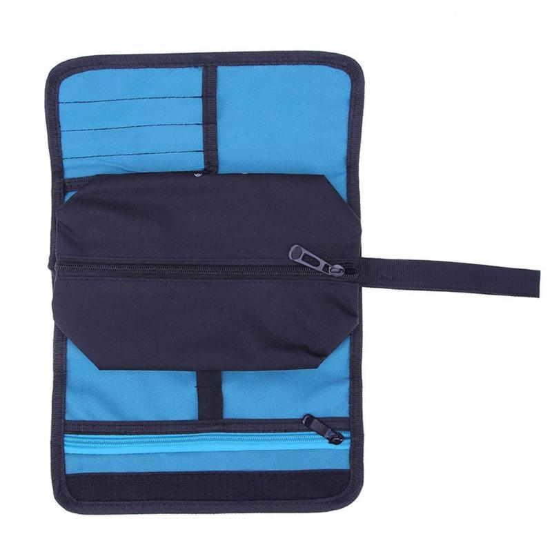 Stoccaggio Bobine Bobine Utility Bag Multifunzione Oxford Pacchetto della Tela di canapa Sacchetto di Strumenti Pocket Pouch Toolkit Strumento Elettrico Pacchetto