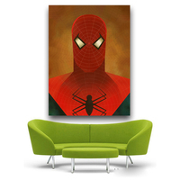 Canvas Painting New Canvas Art Spiderman Comics Painting Decoration For Home Print Poster Canvas Free Shipping