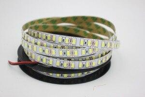 Image 3 - 120leds/m 5M led streifen SMD 5730 Flexible led band licht SMD 5630 Nicht wasserdichte weiß/warm weiß 4000K NWDC12V