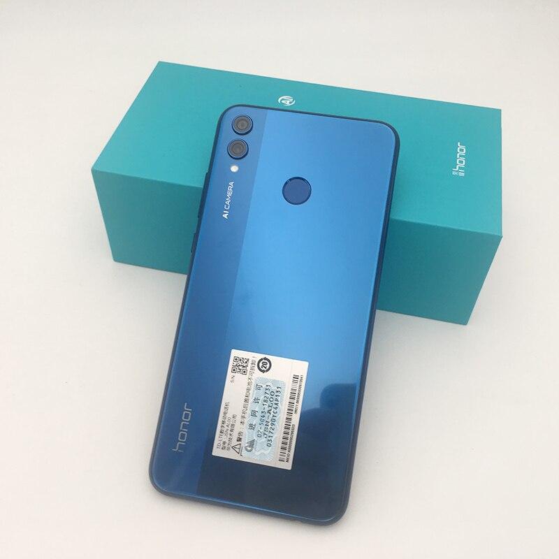 Global Rom Honor 8X 6.5'' full Screen OTA update Smartphone not 8x max Mobile phone Android 8.1 Octa Core fingerprint ID
