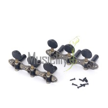 Musiclily pro Baker Style Classical Guitar Machine Heads Tuners Tuning Keys 3X3 Set