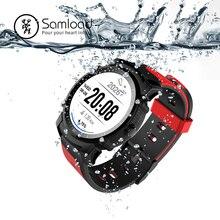 Samload Esportes GPS Relógio Inteligente Adulto Dispositivo Wearable Passometer Bluetooth Freqüência Cardíaca Rastreador OGS Tela Para Xiaomi iPhone6 7 8