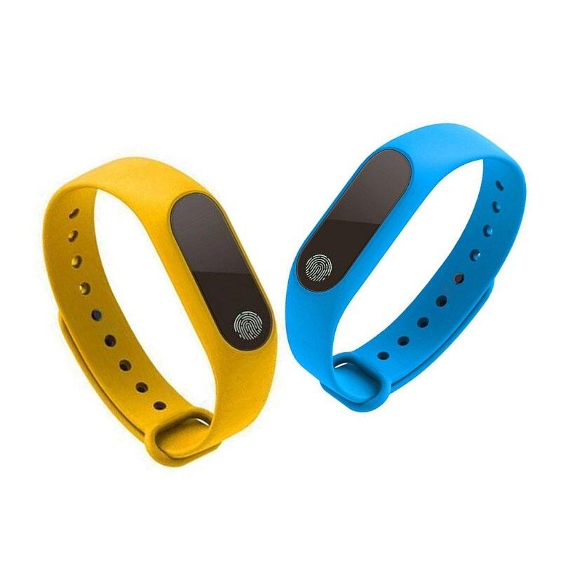Noir M2 de remise en forme Intelligente Bracelet Bracelet étanche gps Moniteur de Fréquence Cardiaque Activité Tracker Bracelet bande bande pour IOS Android