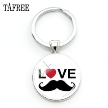 TAFREE The best FATHER EVER Keychain Classy Charm Key Chain Simple Style Keychain Elegant Father Day Present Gift  Jewelry FQ933