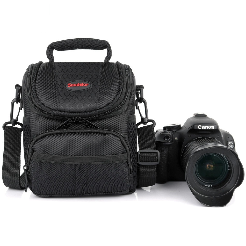 High Quality DSLR Camera Bag Shoulder Bag For <font><b>Nikon</b></font> D3400 D5300 D5100 J5 D3200 D3300 <font><b>B700</b></font> B500 <font><b>Nikon</b></font> Camera Backpack Lens Pouch image