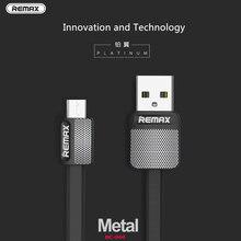 Оригинальный кабель Remax для мобильного телефона 2.1A 1 м прочный кабель быстрого зарядного устройства для xiaomi samsung для iPhone6 6s 7 8 iPhone x