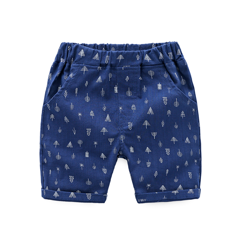 Boy Pants Printed Summer Boys Shorts Brand Breathable Cotton Children For Beach casual shorts