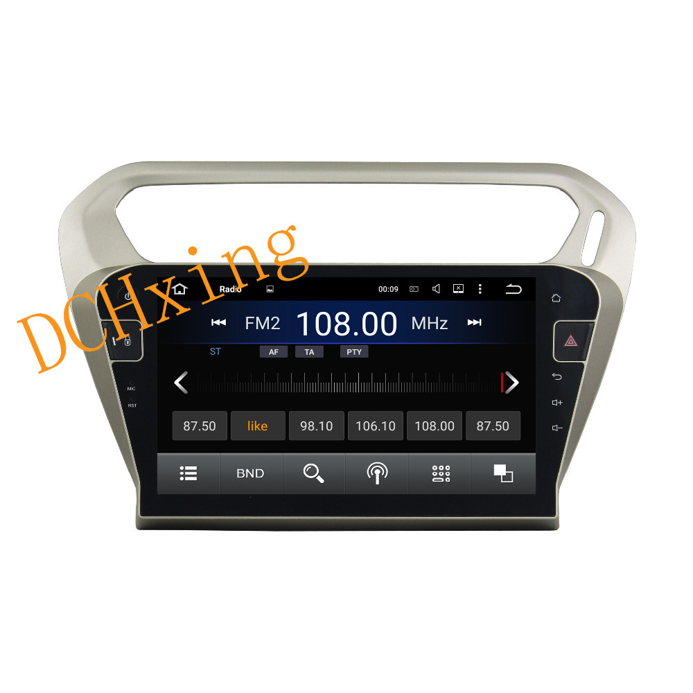 """Clearance 10.1"""" Octa Core Android 9.0 8 core 64G ROM 4G RAM Car DVD Player for Peugeot PG 301 2013-2016 Citroen Elysee GPS Radio 2"""