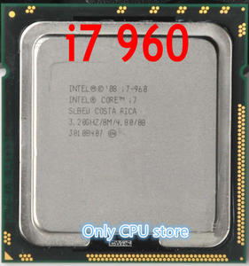 FREE SHIPPING intel Core I7 960 Processor 3.2GHz Quad Core LGA 1366 130W 8M Cache Desktop i7-960 CPU