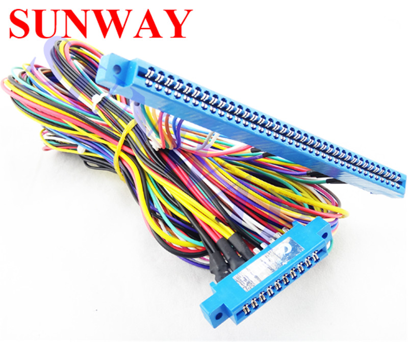 us $8 5 36pin 10pin red board wiring harness for casino game pcb for red board slot arcade game machine in joysticks from consumer electronics on 6 Pin Wiring Harness