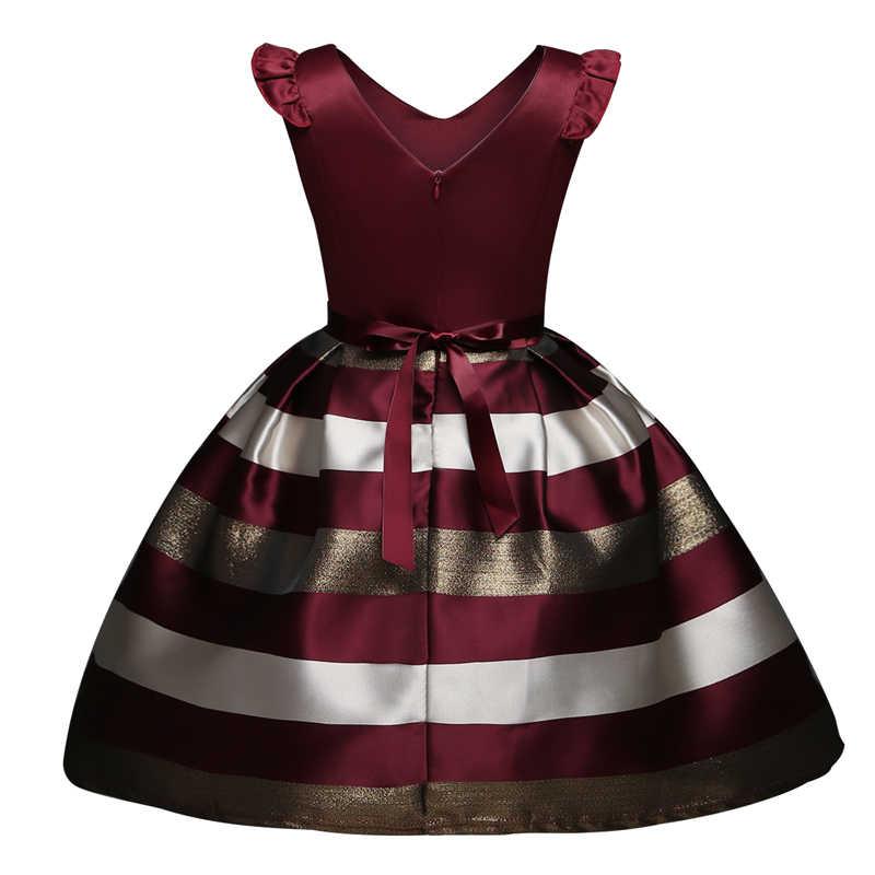 7d675ff7e7425 Elegant Girls Flower Dress Infant Party Dresses Kids Frocks For Girl Prom  Gowns Summer Children Fancy