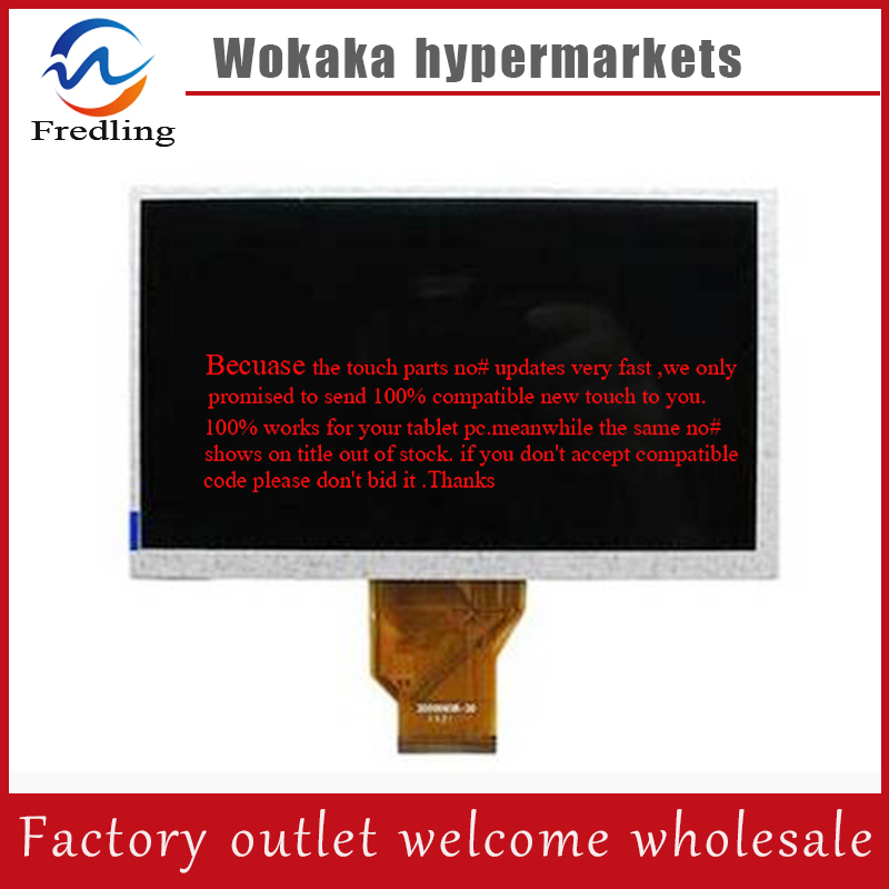 Original New 7inch lcd panel for MIBUK DELTA 7.0 COLOUR Tablet pc lcd screen display for free shipping original 7inch lcd screen ltl070al03 003 for tablet pc free shipping