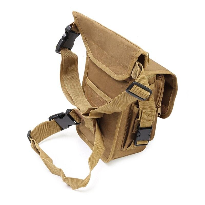 New Outdoor Leg Storage Bag Multi Pocket Adjustable Detachable Belt 900D Waterproof Oxford Cloth Sportswear Accessories|Climbing Bags| |  - title=