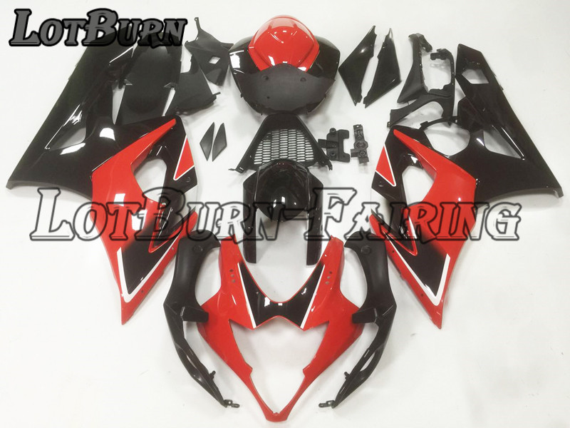 Bodywork Moto Fairings Fit For Suzuki GSXR1000 GSXR 1000 K5 2005 2006 05 06 Fairing kit Custom Made High Quality ABS Plastic B24