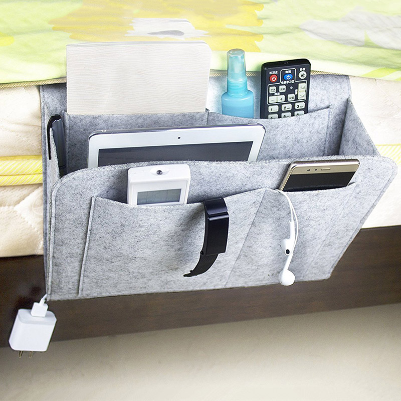 1Pcs High Quality Diaper Caddy Baby Crib Organizer Bed Hanging Storage Bag Multi-Functional Bag Crib Organizer Baby Bedding Set