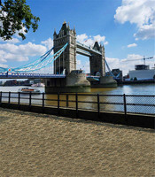 Classic London Bridge Photographic Camera Backdrop 5x7 Real Background For Wedding Photo Shoots Photo Studio Custom Backdrops