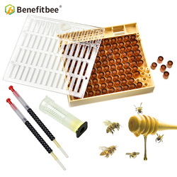 Beekeeping Cupkit Cell Cups Bee Tool Set Queen Rearing System Bee Larva Grafting Pen Tool Nicot Complete Catcher Cage Apiculture
